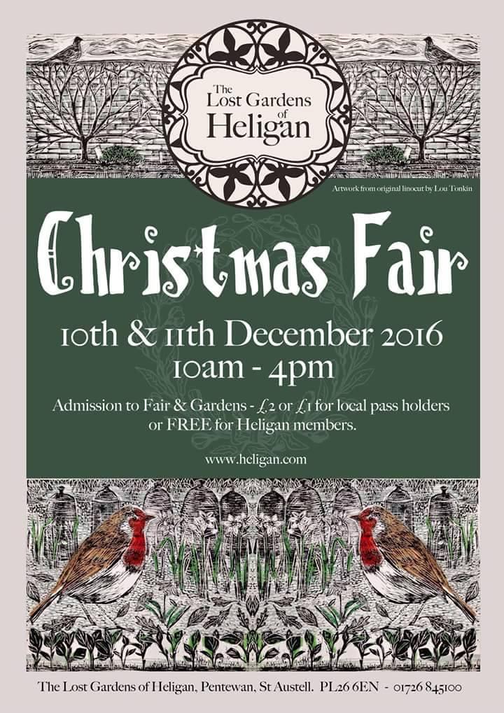 Heligan Gardens Christmas Fair