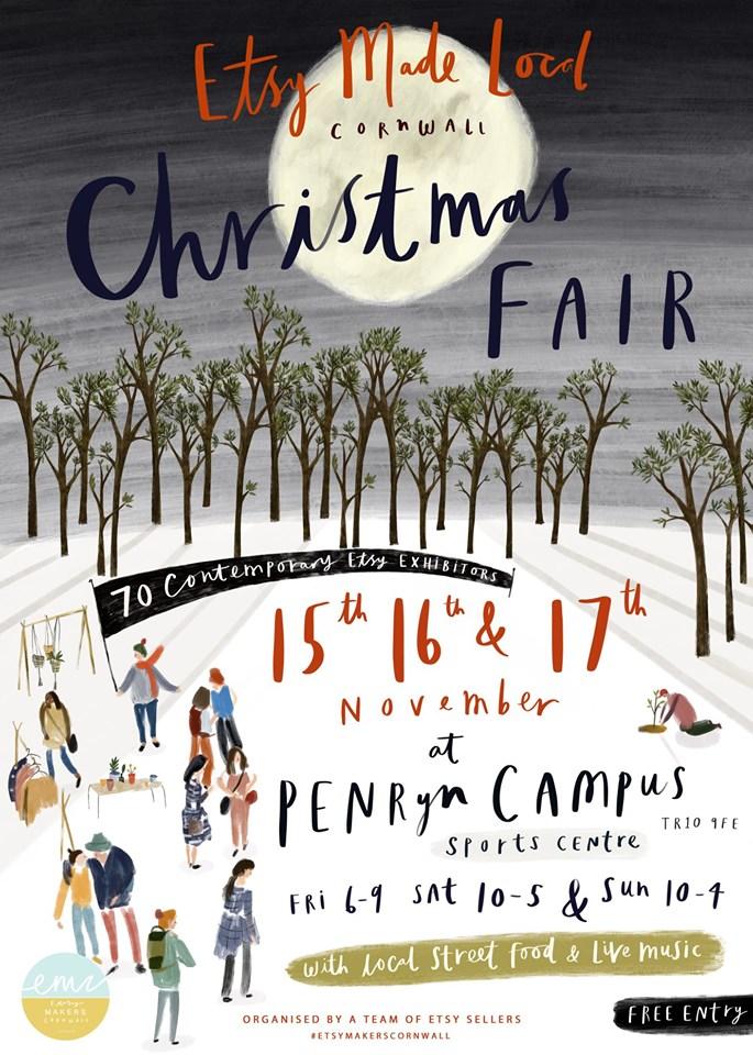 Etsy Made Local - Cornwall Christmas Fair